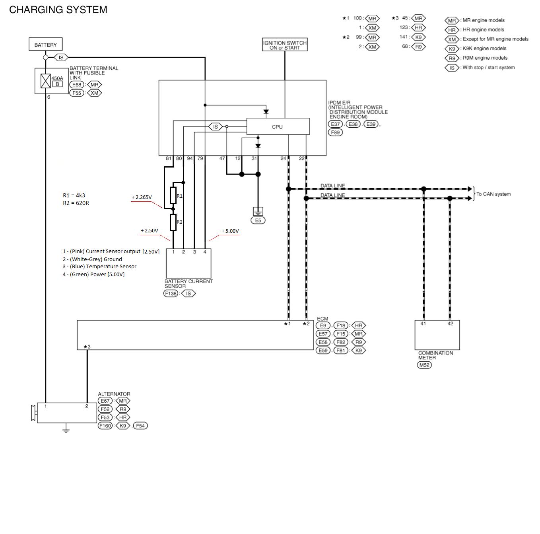 Nissan qashqai towbar wiring diagram choice image