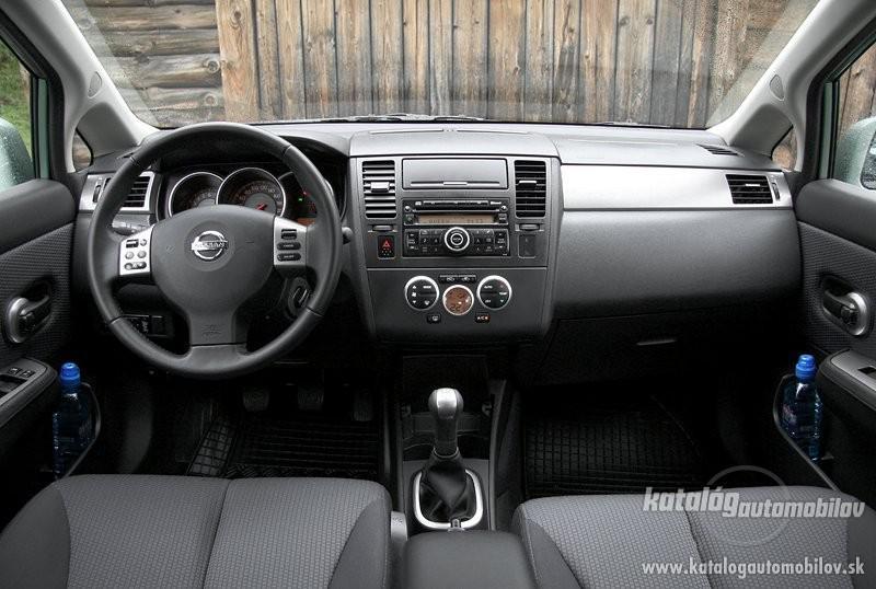 2007 Nissan Tiida 1.8 benzín 93 kW