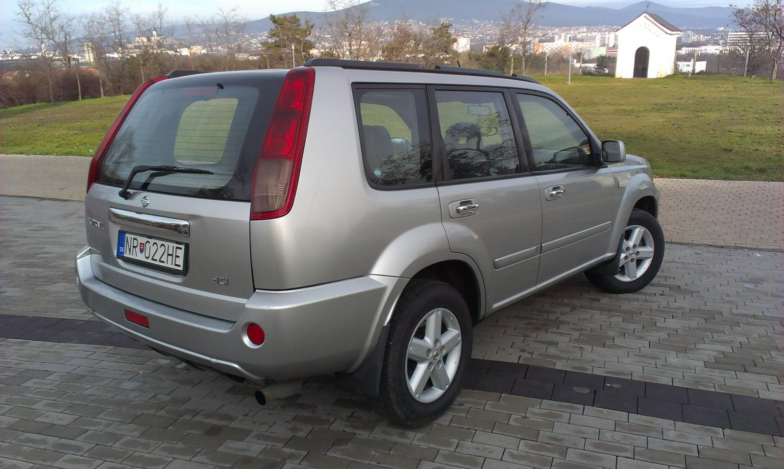 nissan x trail 2004 owners manual